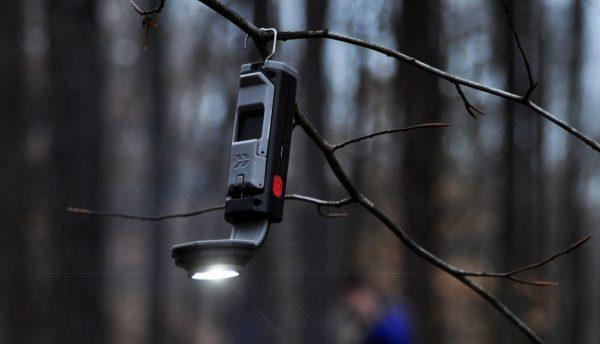 stkr concepts flexit pocket light flashlight hanging on branch 1 1