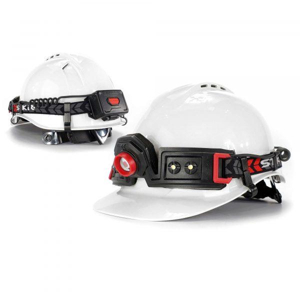 stkr flexit headlamp 2 5 main image hard hat front rear 1 1
