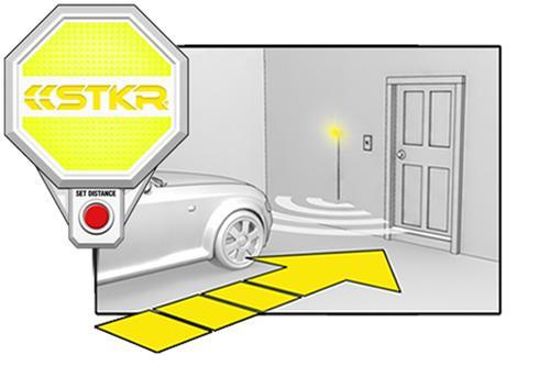 stkr garage parking sensor lt steps icon 1 yellow Copy